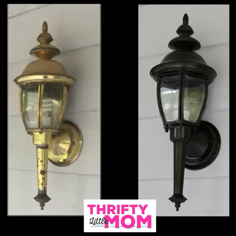 Make Old Outdoor Lighting Look New for $20
