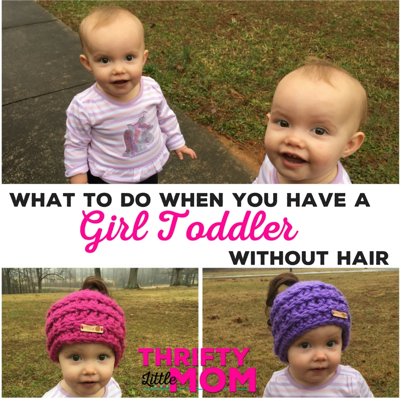 What to Do When You Have a Toddler Without Hair