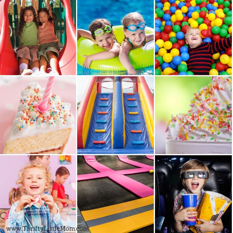 25 Best Kids Birthday Party Places