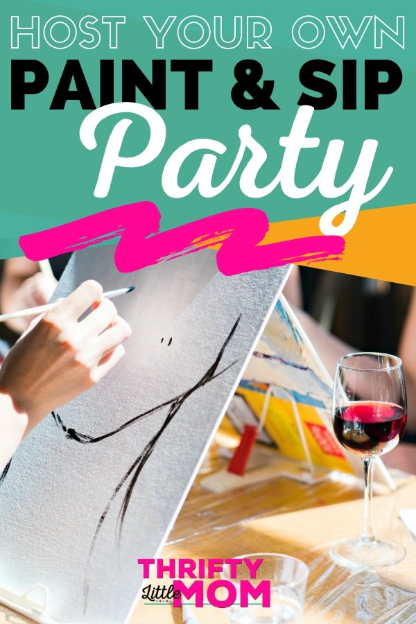 Simple Sip And Paint Party Ideas For A Night In With Friends