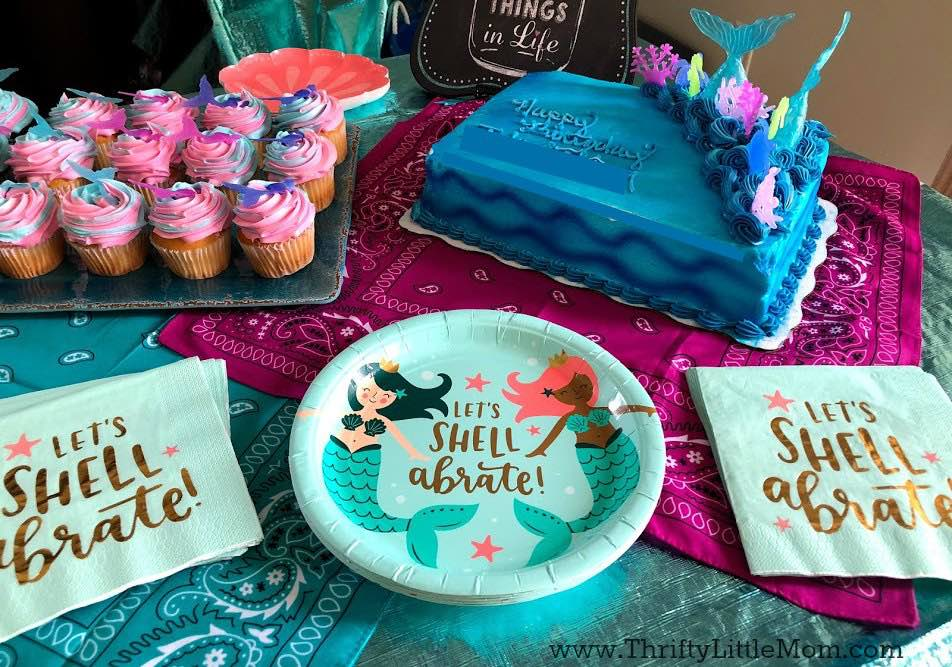 Mermaid Pool Party Theme