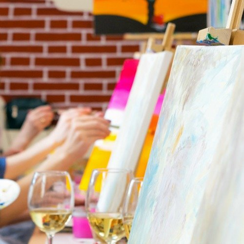 How to Host Your Own Sip and Paint Party