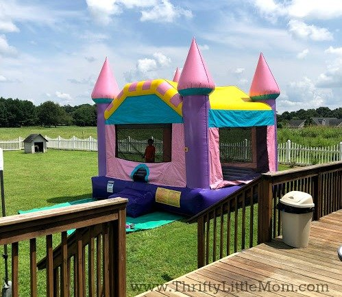 inflatable bouncy castle for party
