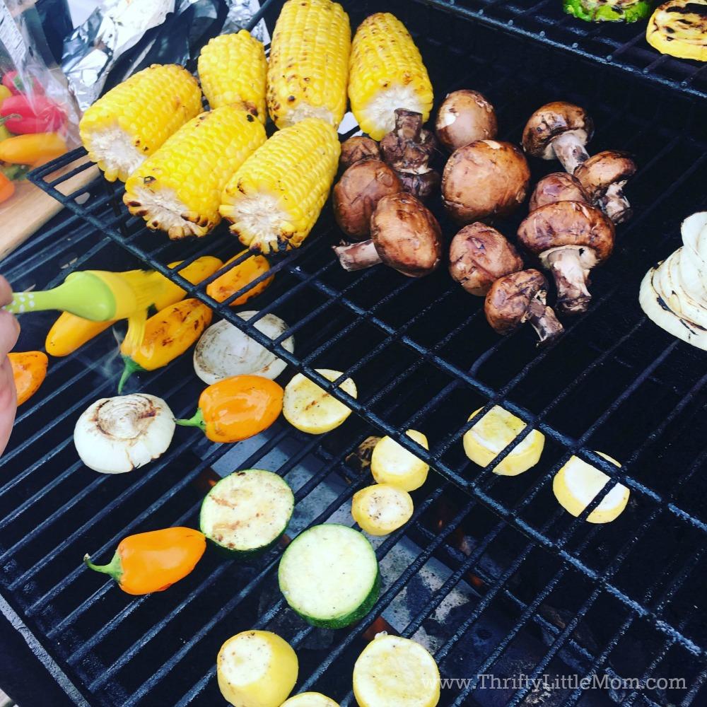 Barbecue Food List Vegetables