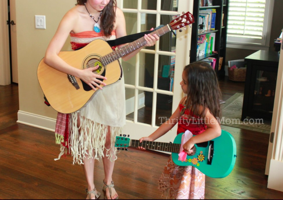 for a great luau party idea hire a live musician to play