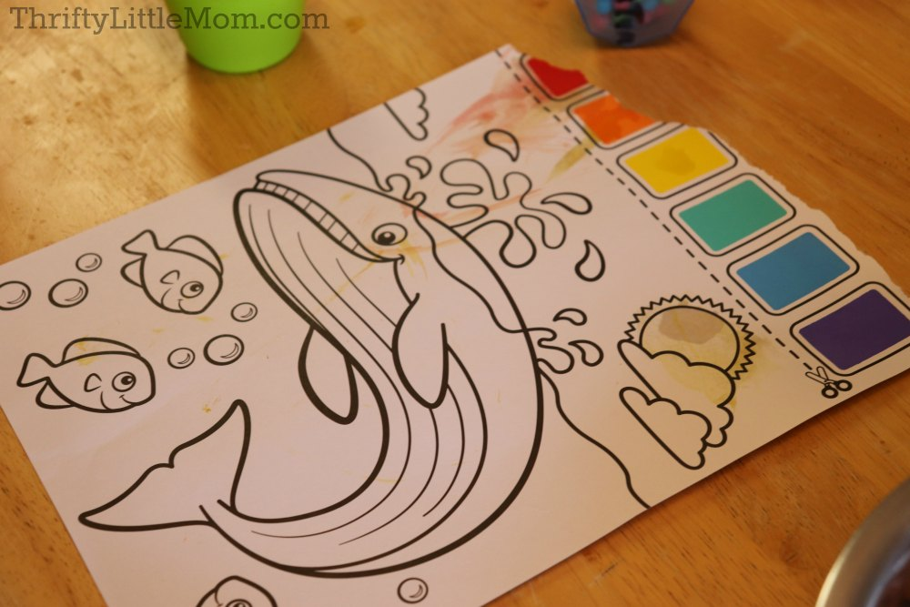 Painting Party for Kids- pre-lined canvas for toddlers