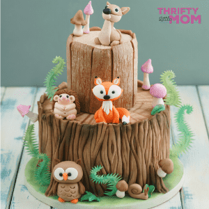 Woodland Creature Baby Shower Guide for Girls or Boys