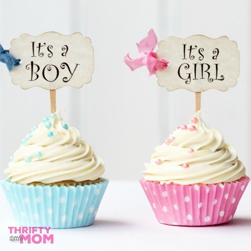 Baby shower decorations and color themes
