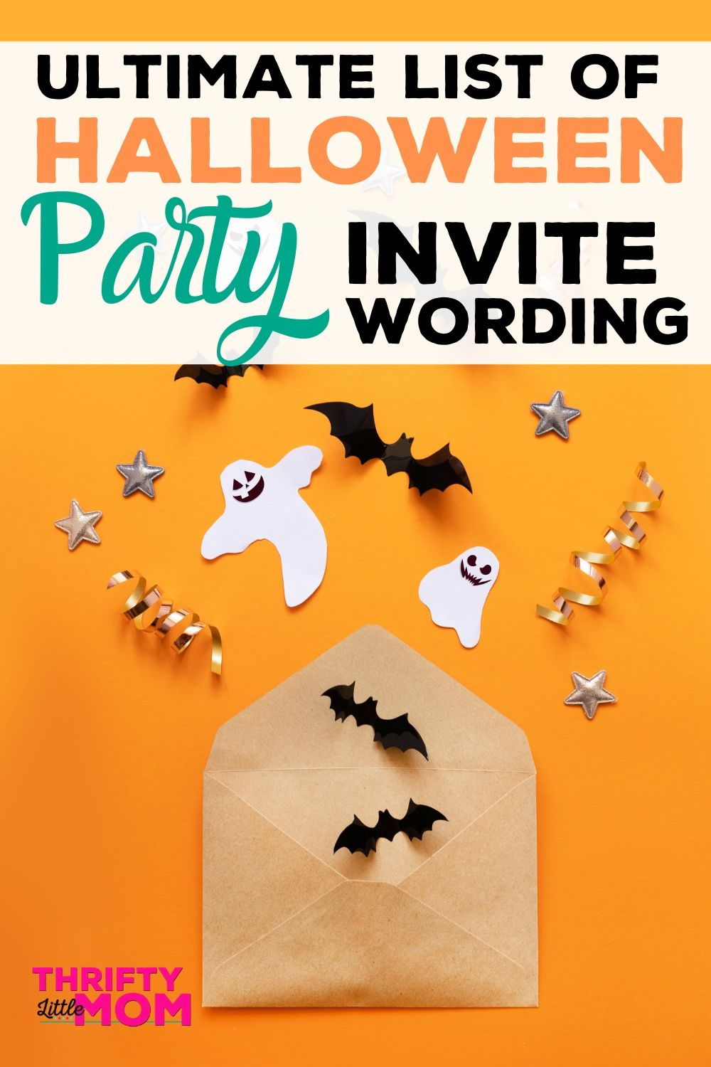 Halloween Invite wording