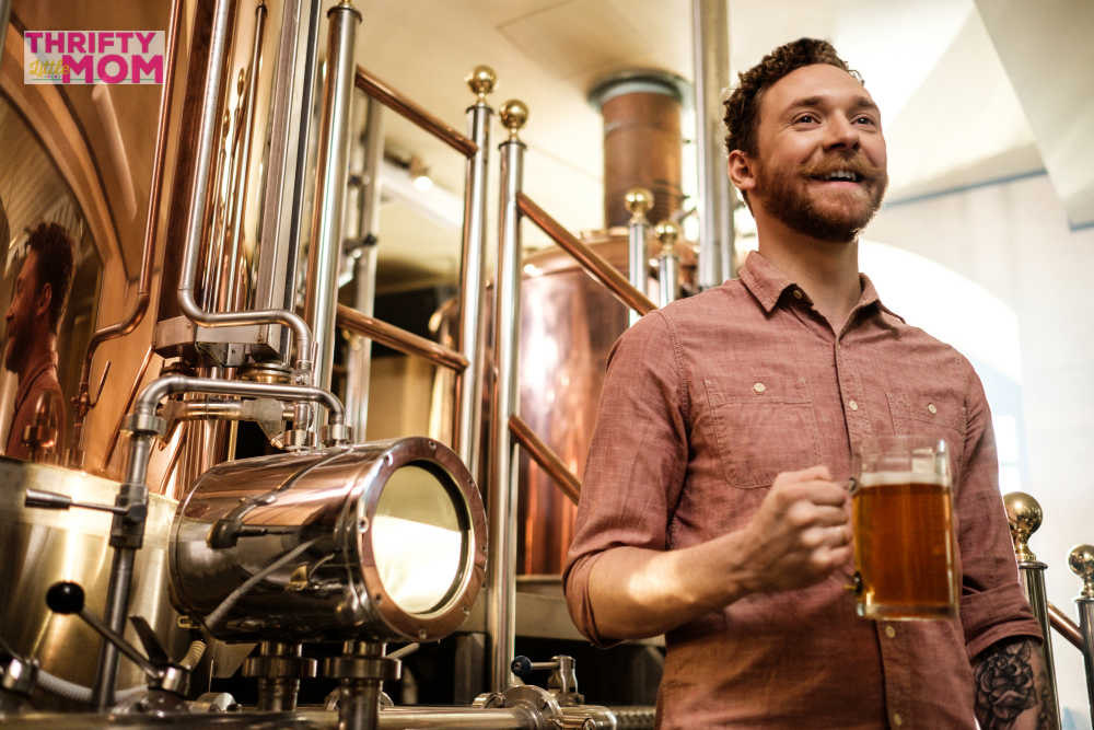 Take a Brewery tour for a cheap birthday party ideas