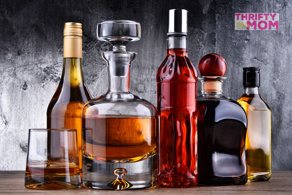top shelf expensive liquor can make a great 70th birthday gift idea