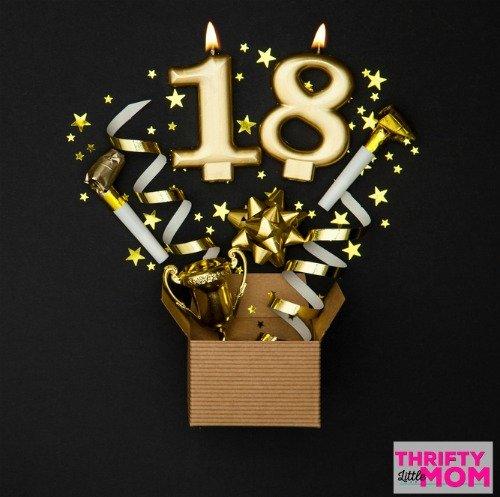 celebrating 18th birthday gift