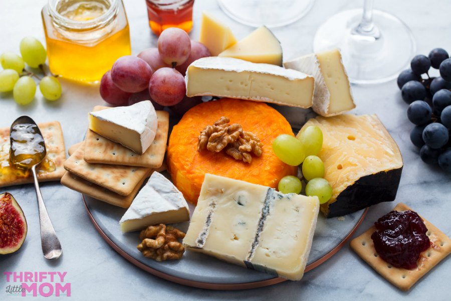 gourmet cheese platter idea