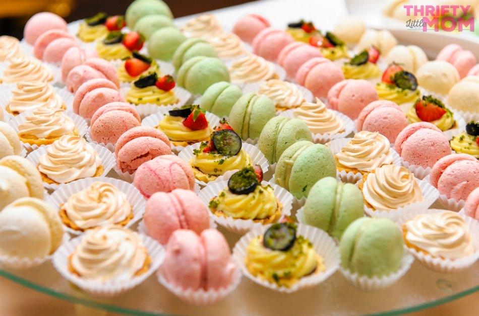 assorted dessert platter idea
