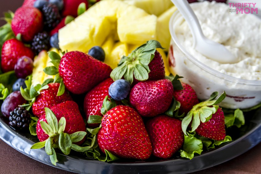 fruit platter idea