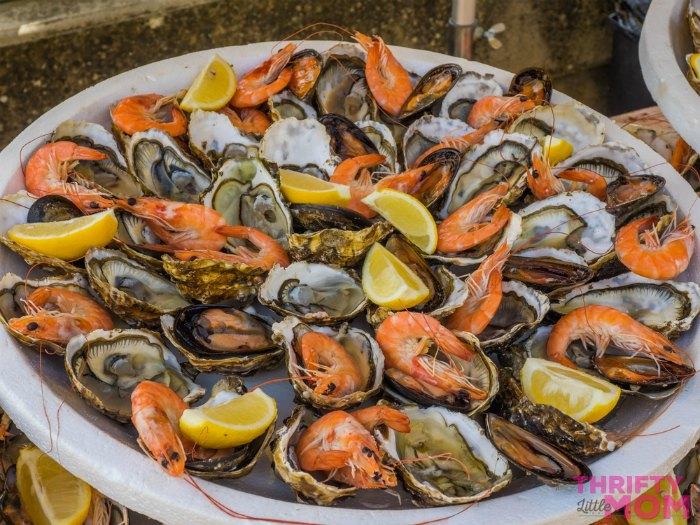 seafood platter idea