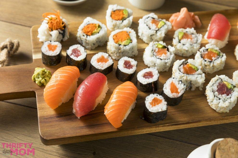 sushi platter idea
