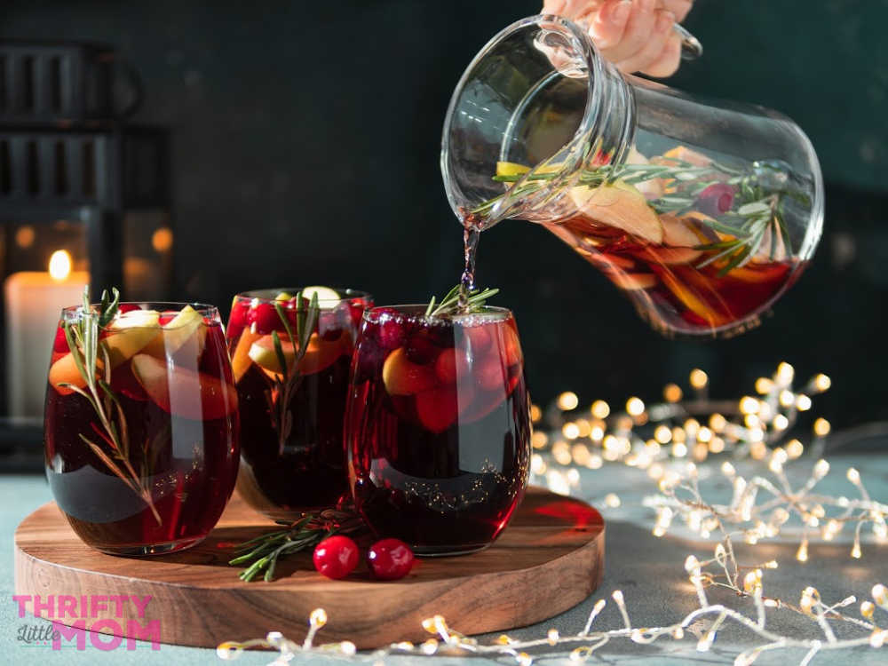 easy holiday sangria recipe