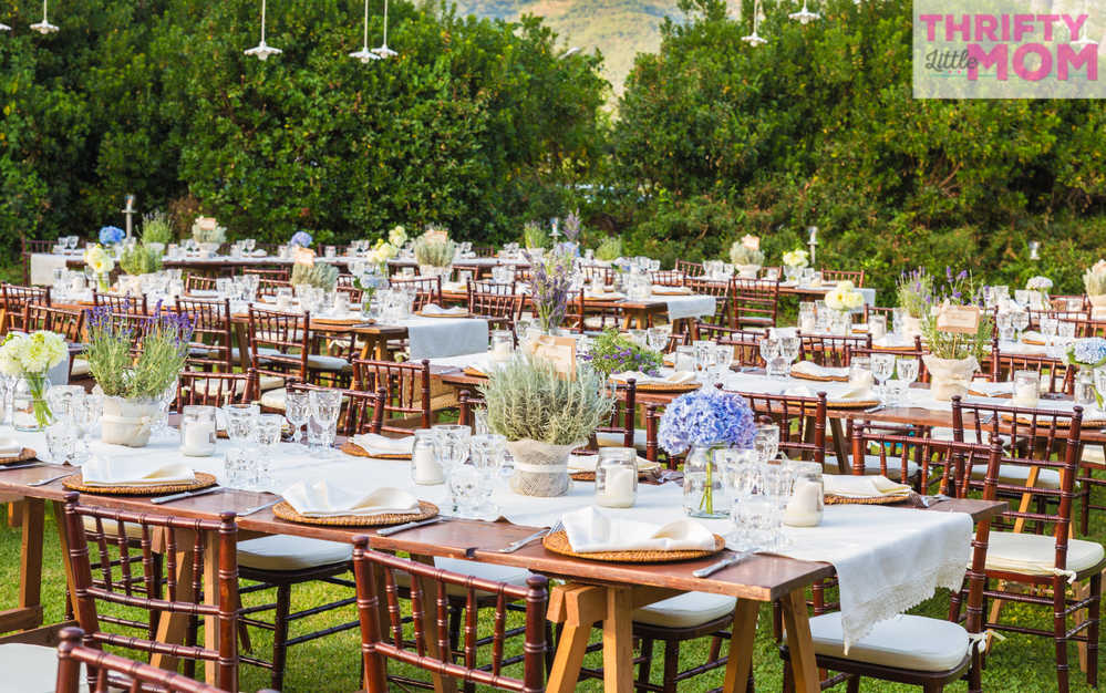 Chiavari chair rentals are elegant