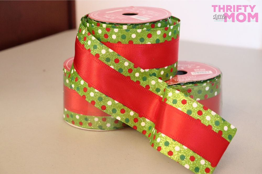 fun grinch ribbon