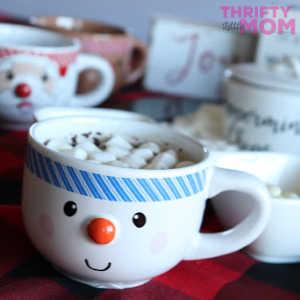 Hot Chocolate Toppings Bar