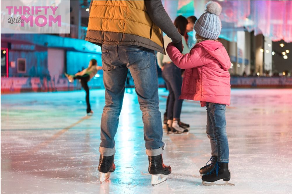go to an indoor skating rink for your winter birthday