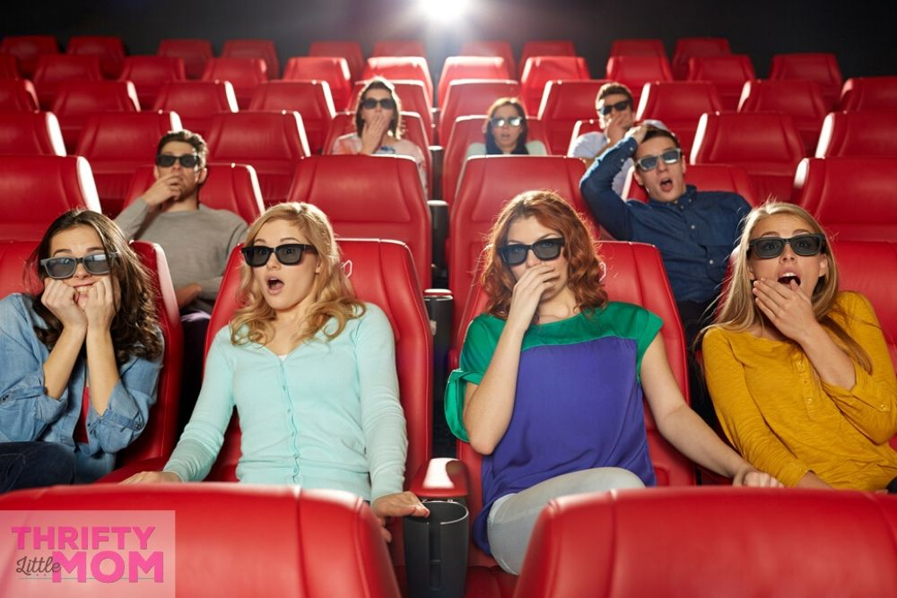 enjoy a 3d movie for your 14th birthday