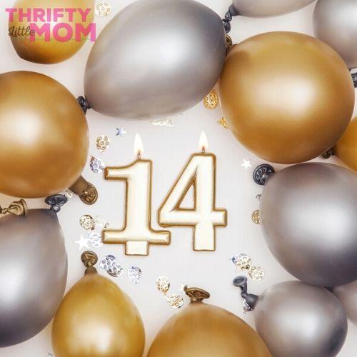 20 Indoor & Outdoor 14th Birthday Party Ideas