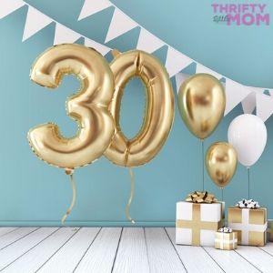 Fun & Fabulous 30th birthday gift ideas
