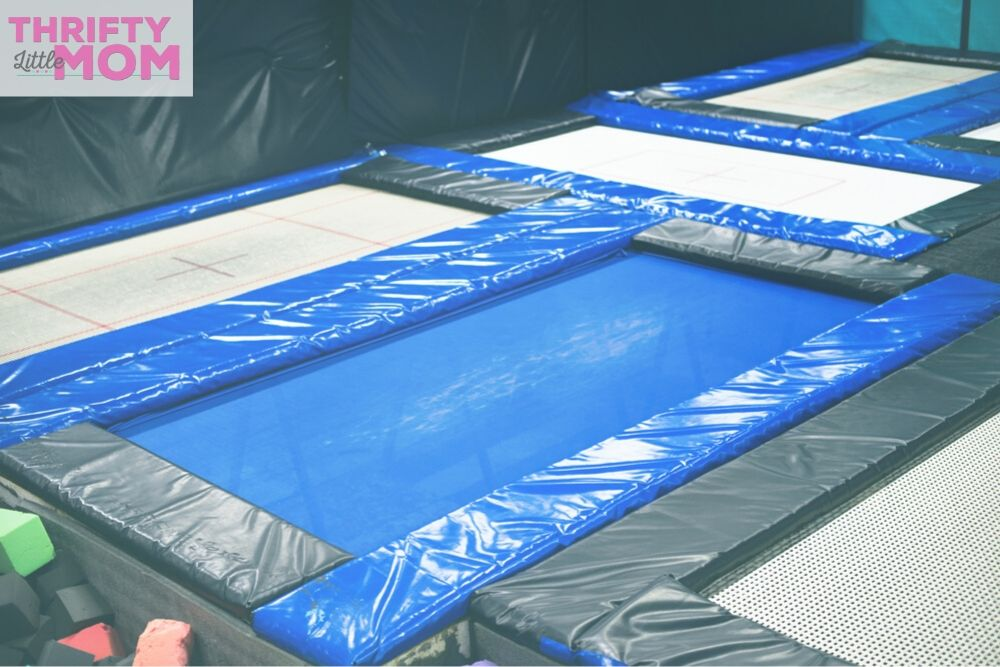 trampoline dodgeball park for 11 year old boy birthday party ideas