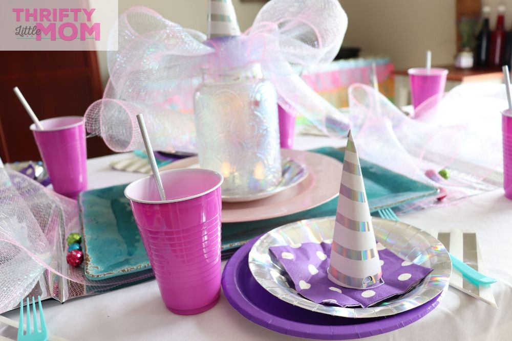 unicorn birthday party theme for 5th