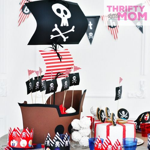 pirate party supply for desserts