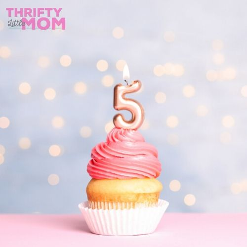 5th birthday party ideas cupcake shop