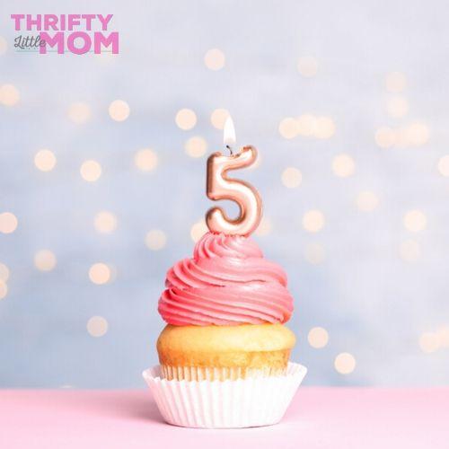 5th birthday party ideas cupcake shop