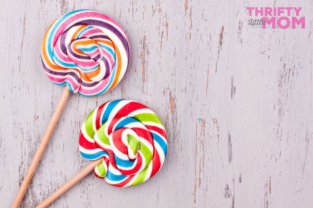 striking candy lollipops are tasty for teen birthday favors
