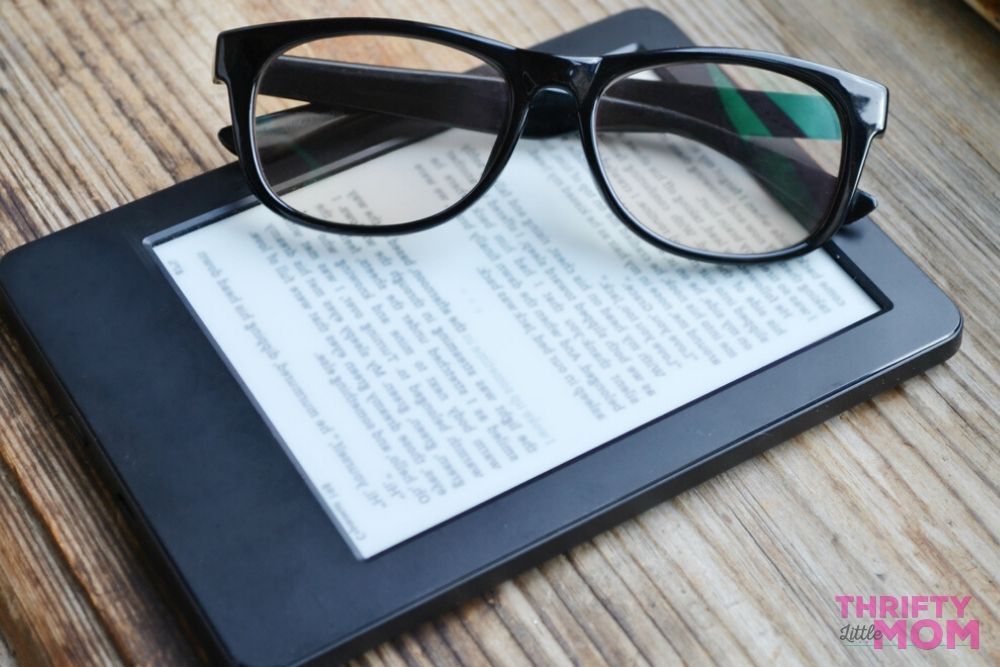 E-readers make a great mother's day gift idea