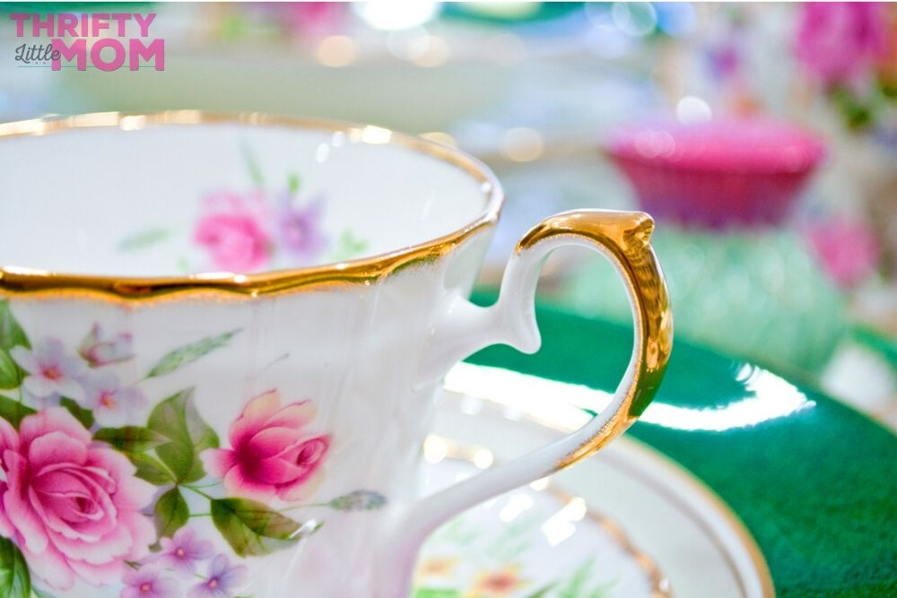 use heirloom family china at your next tea party