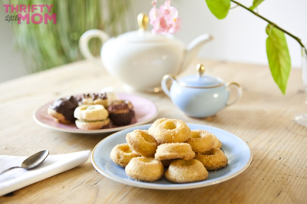 include scones and pastries for tea party ideas during your next lingerie party