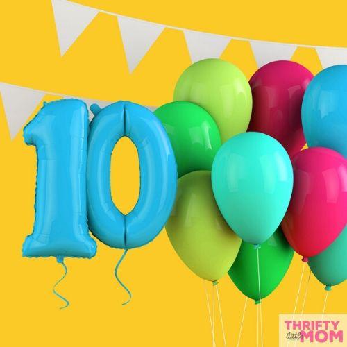 Twenty Two 10 Year Old Birthday Party Ideas