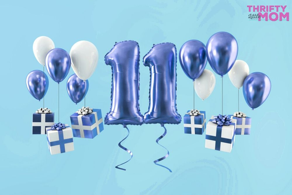 balloons for 11 year old boy birthday party ideas