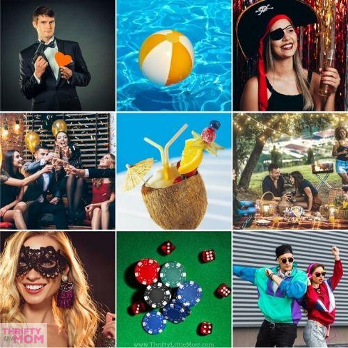 35 Unique Adult Party Themes