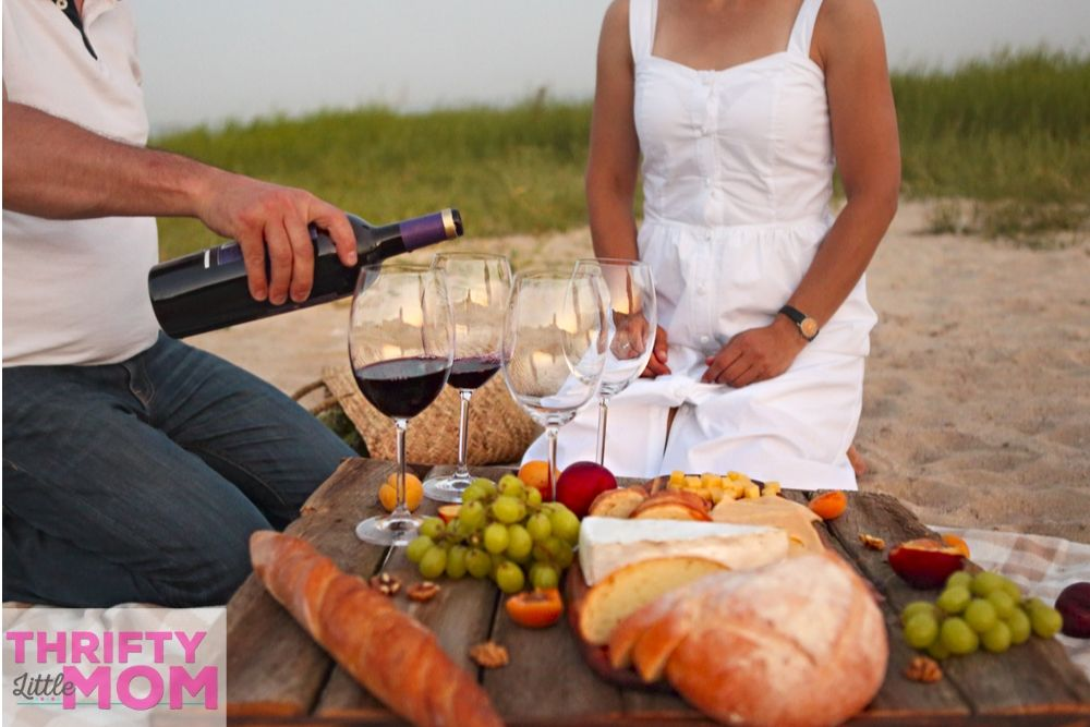 have a picnic at the beach for a cheap birthday party idea