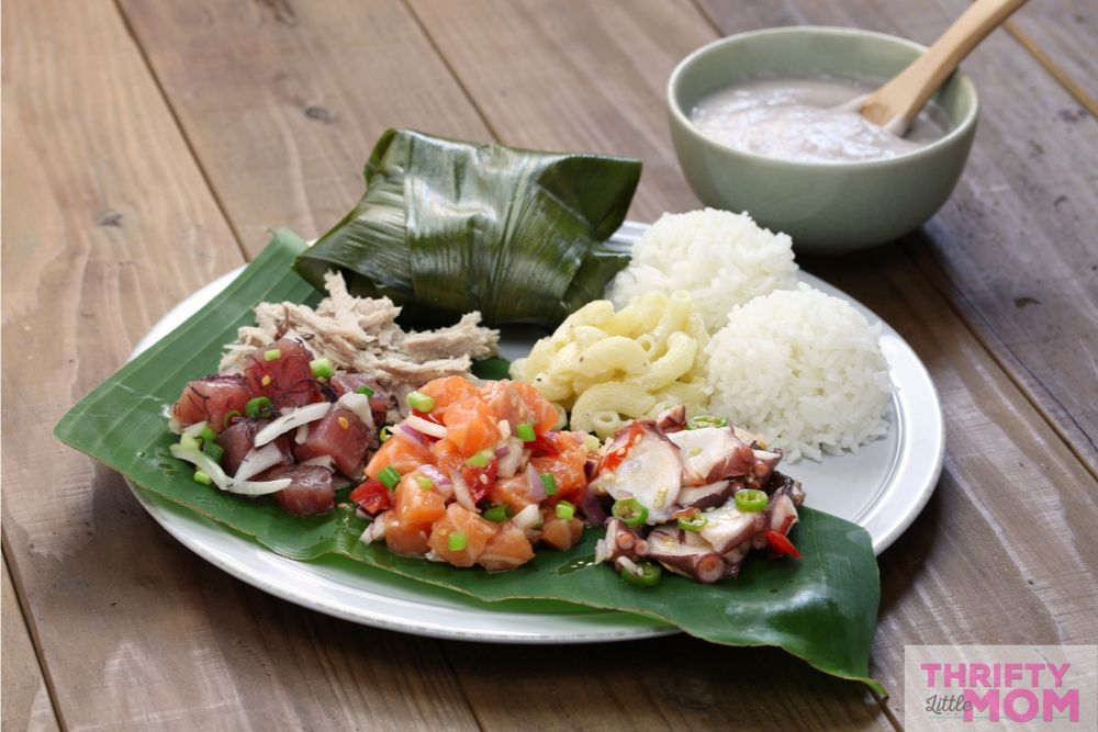 for luau party ideas try making traditional pacific cuisine