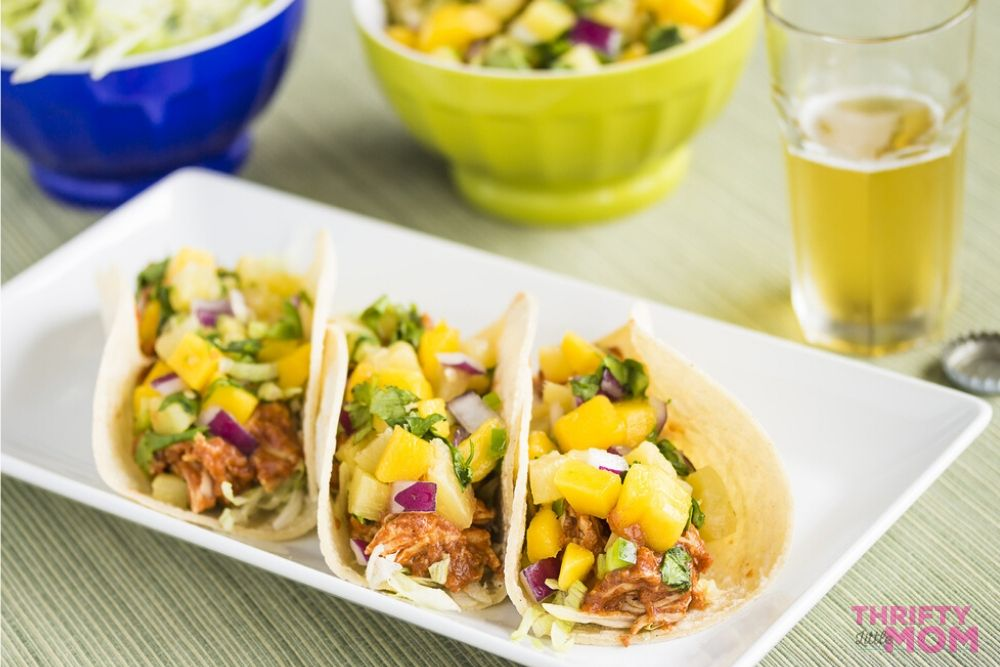 for luau party ideas tacos are great hand foods
