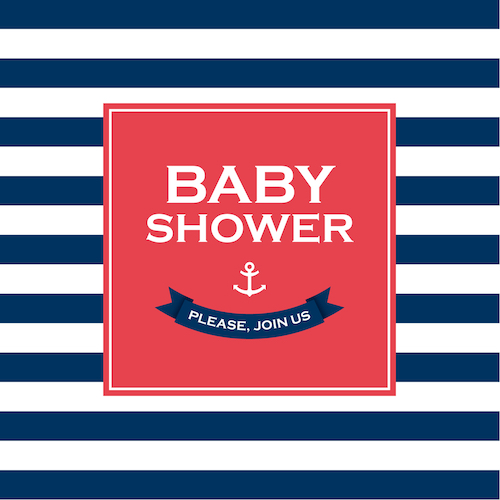 10 Super Cute Nautical Baby Shower Decorations & Supplies