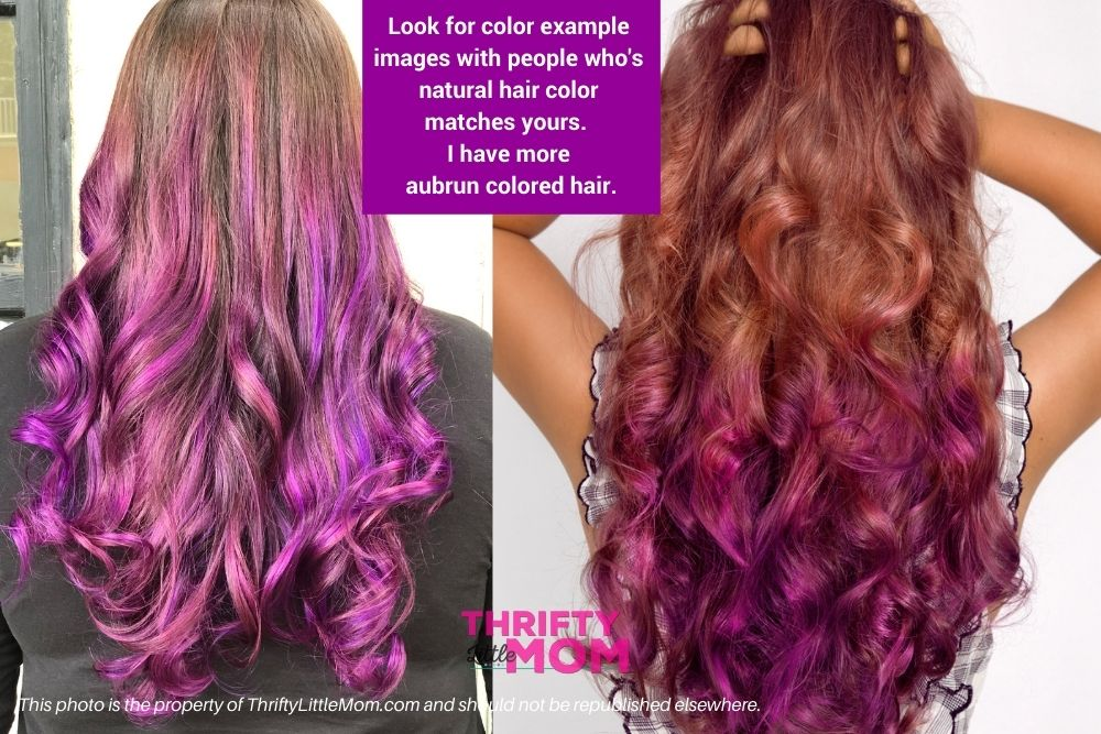 How to Get Gorgeous Purple Highlights in Brown Hair